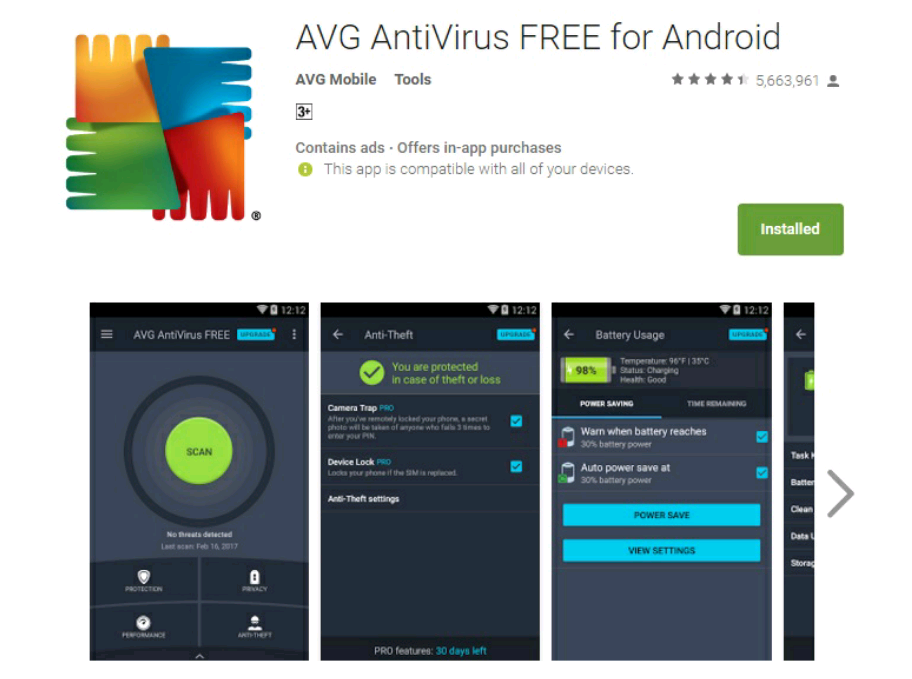 Avg-antivirus-android-app