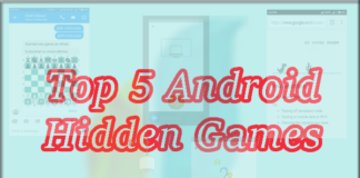 Top 5 Android Hidden Games
