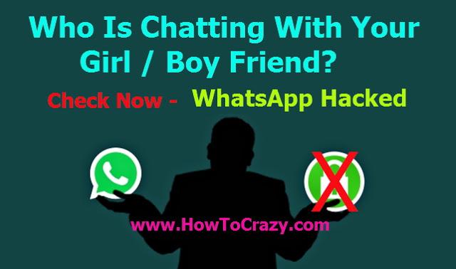 How To Hack GirlFriend WhatsApp Messages - Working Method