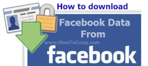 Download your Facebook Data