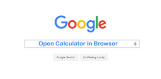 How To Open Google Calculator