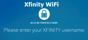 Xfinity wifi login password