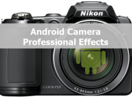 Android-camera-professional