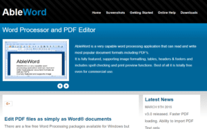 Ableworld- Top 5 Free PDF Online and Offline Editing Software