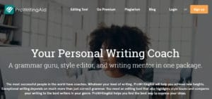 ProWriting Aid - Best Sites Like Grammarly