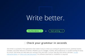 Slick Write - Best Sites Like Grammarly
