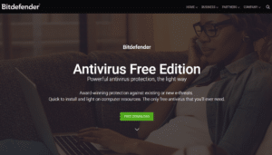Bitedefender Antivirus for Windows - Best Free Antivirus for Windows 10