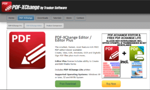 PDF-Xchange Editor - Top 5 Free PDF Online and Offline Editing Software