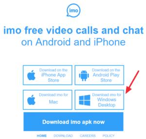 IMO Messenger - Free Video Calling Apps for Windows