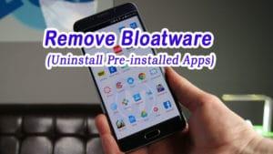 remove-uninstall-bloatware