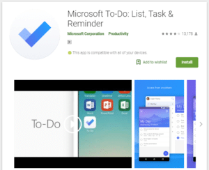 Microsoft To Do -  Best To Do List Apps For Android