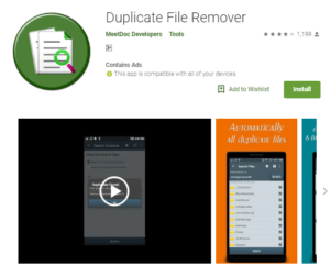 duplicate file remover for android