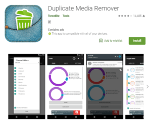 duplicate media remover tool for android