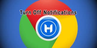 How to turn off Google Chrome Desktop Notifications