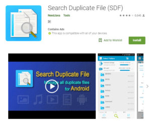 search duplicate files