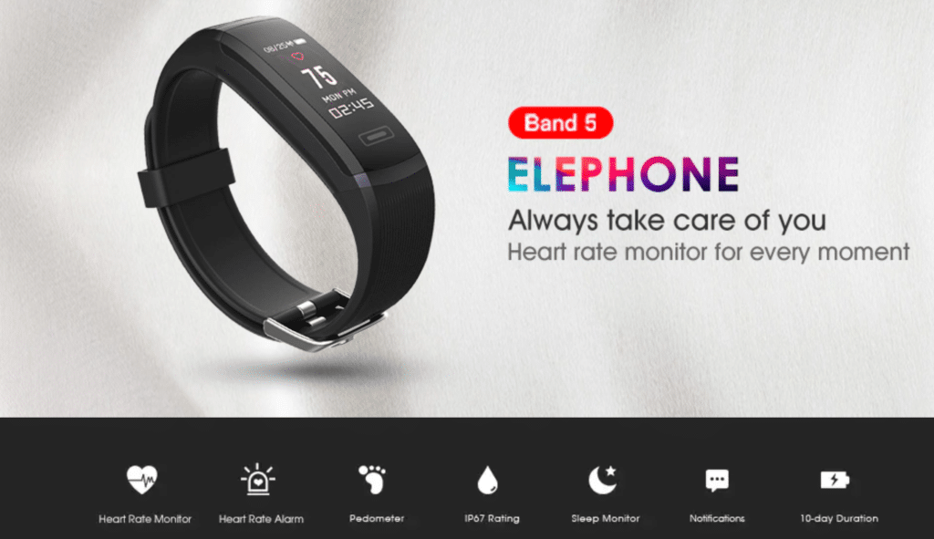 Elephone Band 5 Smart Bracelet Main