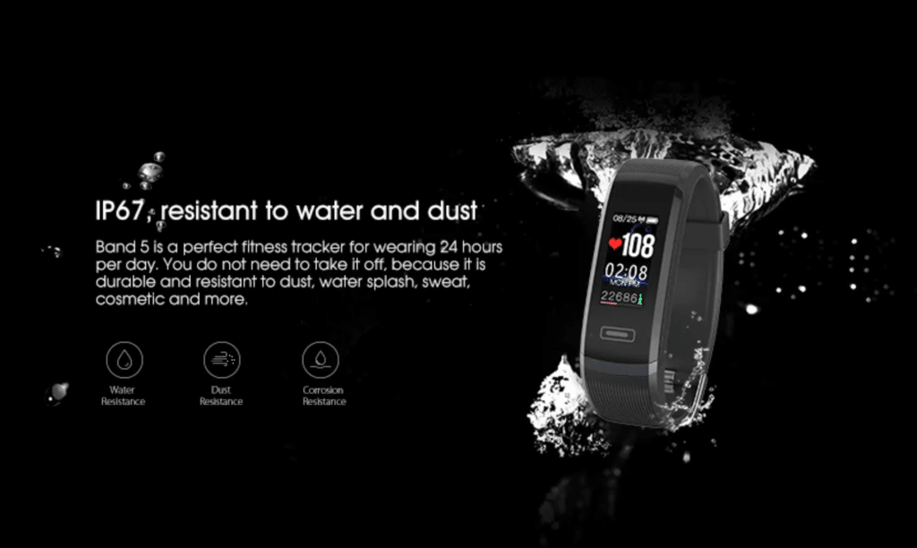 Elephone Band 5 Smart Bracelet Water Resistance