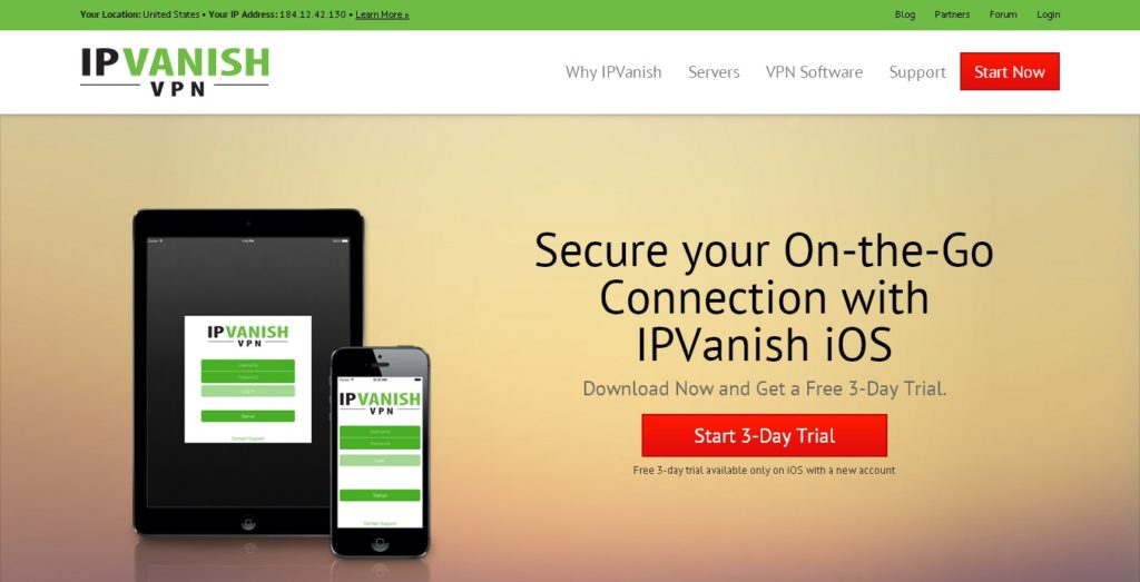 Best VPN Services for Android and iOS - IPVanish