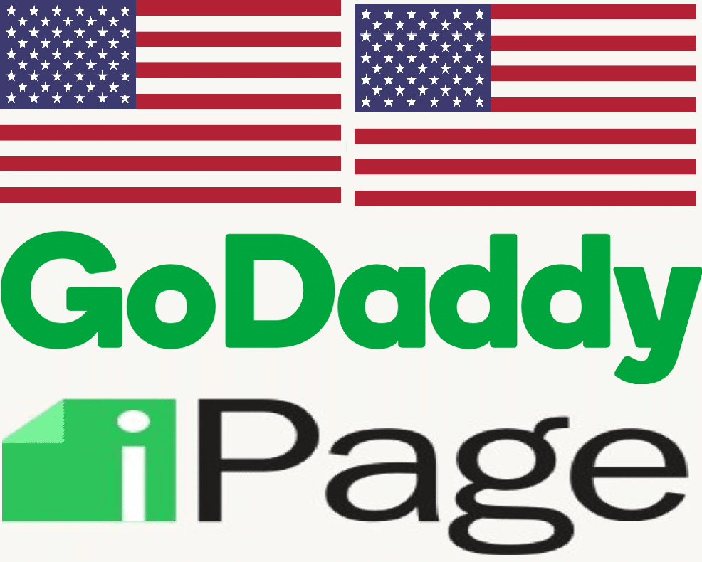 US Domain Prices Comparison GoDaddy versus iPage