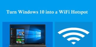 Make Hotspot For Windows 10 PC