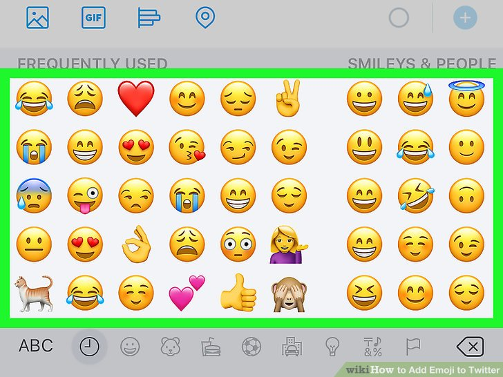 Add emoji from your desktop