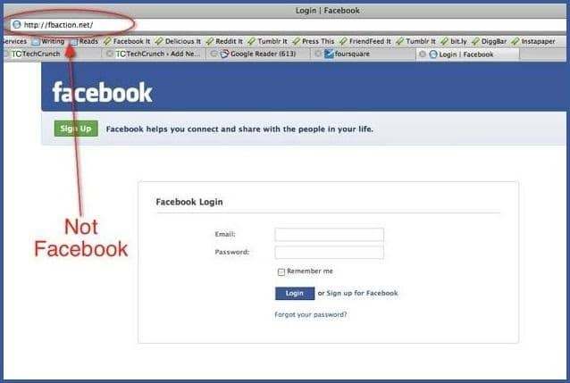 Facebook Tricks - How To Hack Facebook Account Password by Email ID