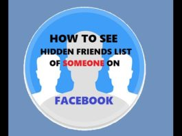 How To See Hidden Friend List of Someone On Facebook