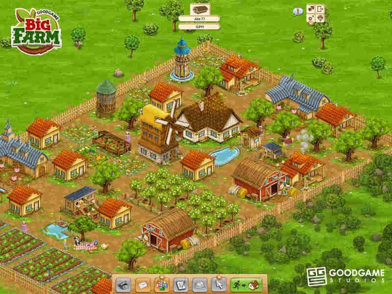 Big Farm Game On PC