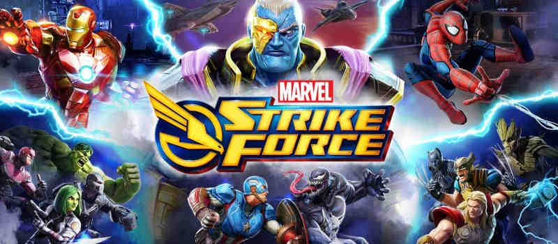 Download And Play MARVEL Strike Force On PC