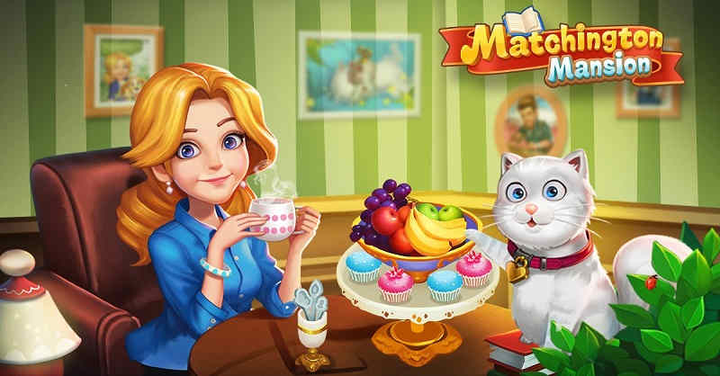 Download Matchington Mansion Game On PC