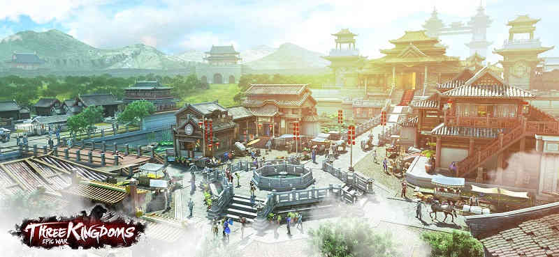 Three Kingdoms Epic War Game On PC