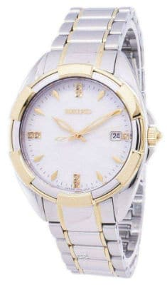 Seiko Quartz Diamond Womens Watch