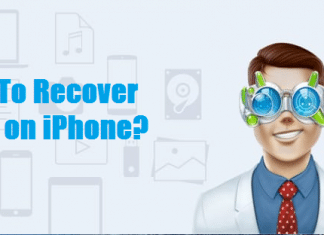 How to Recover Files On iPhone