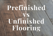 Prefinished or Unfinished Hardwood Flooring
