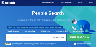Zosearch Free People Search Review