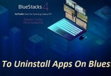 Uninstall Apps On Bluestacks