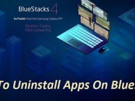 Uninstall Apps On Bluestacks