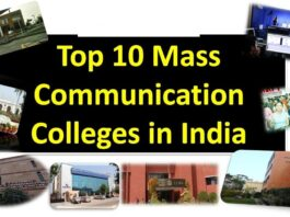 Top Mass Communication Colleges in India
