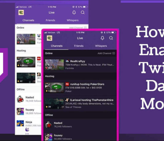 How to Enable Twitch Dark Mode