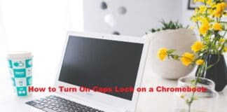 How to Turn On Caps Lock on a Chromebook