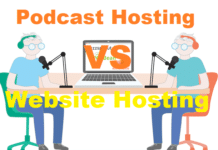 Podcast Hosting Vs Website Hosting