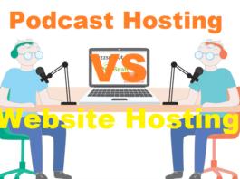 Podcast Hosting Vs Website Hosting