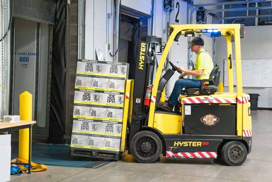 10 Different Forklift Types