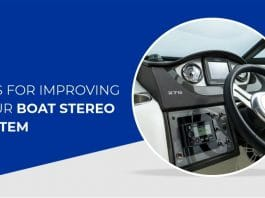 Boat Stereo System