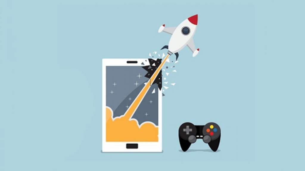 creating a mobile game in stages