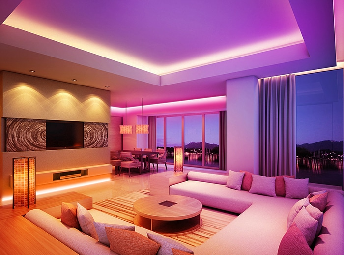 LED lights in Your Décor